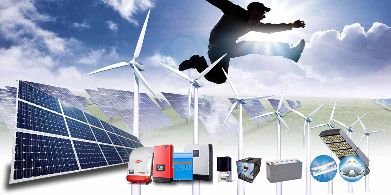solar products background image