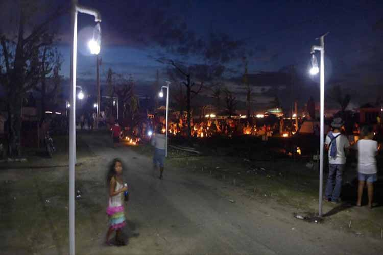 These Off Grid Solar Lights Are Made By The Communities