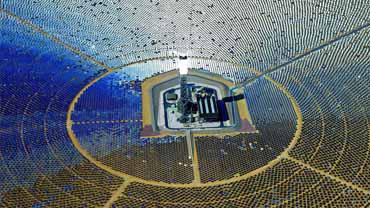 California's new solar power plant