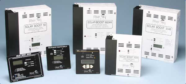 Blue sky charge controller portfolio at pakistan solar services