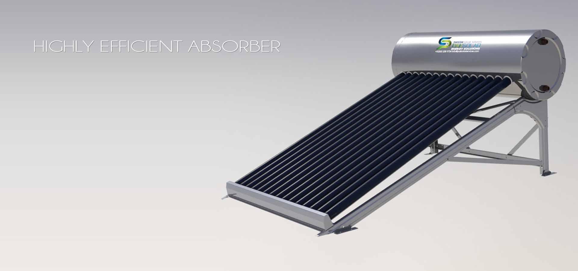 Pressurized and Non-Pressurized Solar Water Heater / Geyser