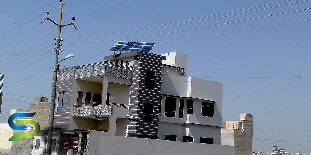 3KW Solar off-grid home system installed at Pilibheet Society, Scheme 33 by PAKSOLAR