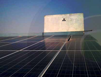 6KW Solar Off-Grid home system installed at Larkana by PAKSOLAR