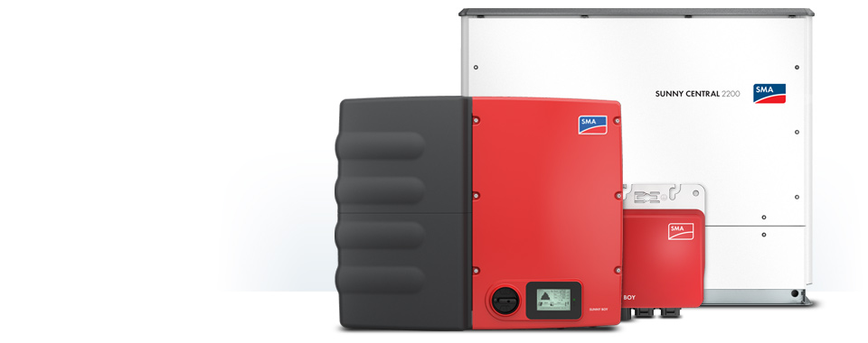 SMA inverter products
