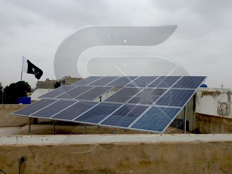 Solar Panel Mounting Structure Ms Gi And Aluminium