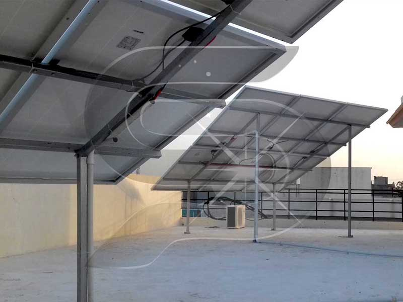 Solar Panel Mounting Structure MS, GI and Aluminium Manufacturer