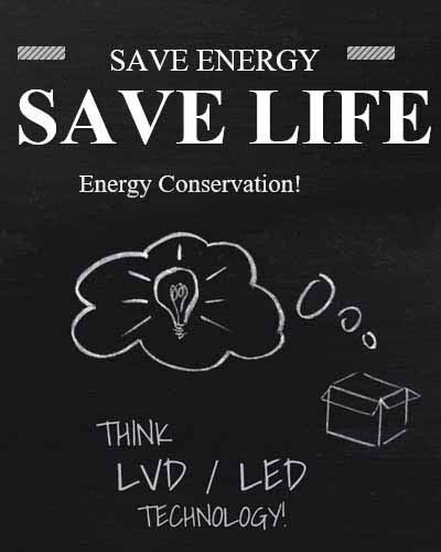 Save energy save lift Energy Conservation Think LVD/LED Technology lighting