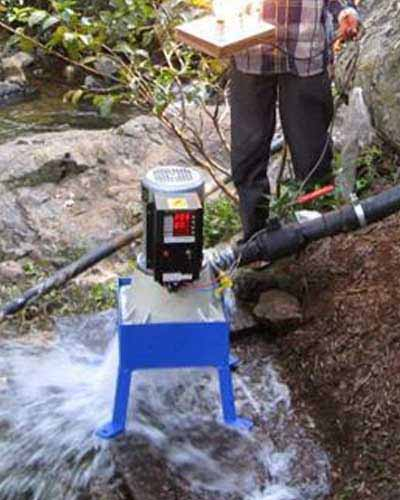 Create electrical energy through micro hydro turbine by Pakistan Solar Services