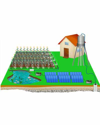5 inch solar water punp system in Baluchistan by PAKSOLAR Services