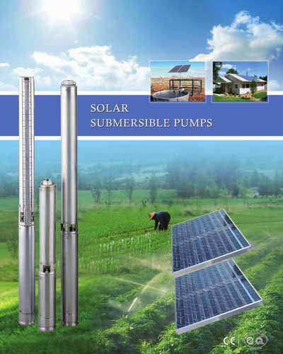 How solar water pump system is working