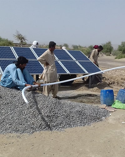 Solar Submersible Pump System