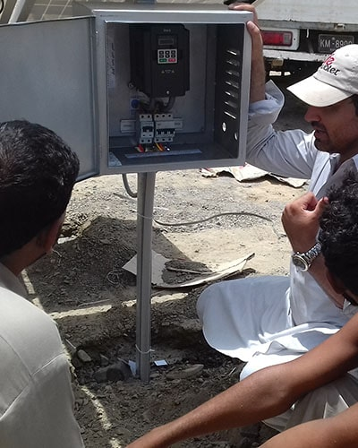 Solar Tube well system solution provider in Karachi, Lahore, Sind, Baluchistan, Pakistan