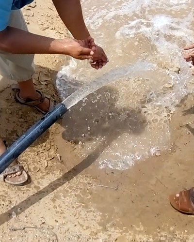 4 inch solar tube well system for agriculture by Pakistan Solar Services in Balhucistan