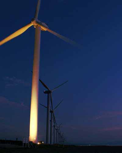 Jhampeer Wind Farm System in Pakistan