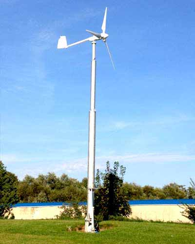 5KW Wind Turbine Solution installed by Pakistan Solar Services
